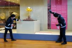 文化場館在開放前加強清潔及消毒 (2)