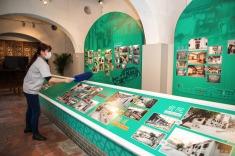 文化場館在開放前加強清潔及消毒