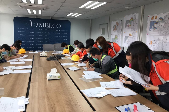 Melco hires 100 local construction workers_20200316_03