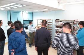 勞工局安排企業參觀學員培訓情況 (1)
