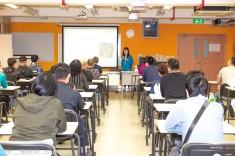 勞工局為第一輪「帶津培訓」結業學員開辦講座及就業配對會