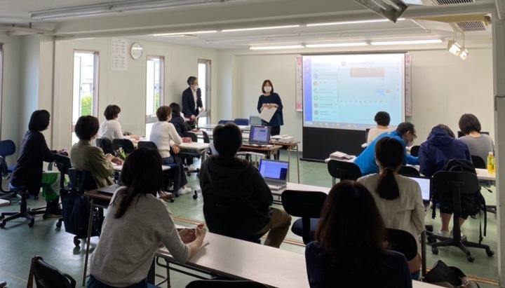 圖片說明2 日本國際學校「翰林日本語學院」是第一批使用DingTalk Lite的教育機構。