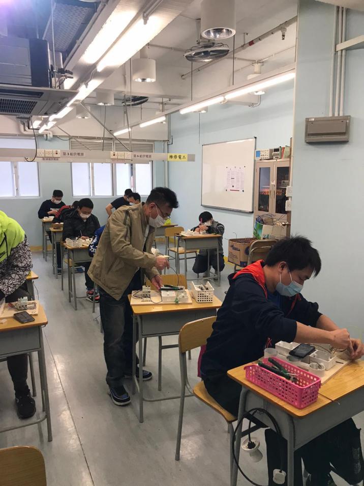 學員透過計劃學習強化技能