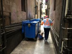 市政署加強清潔祐漢舊區一帶