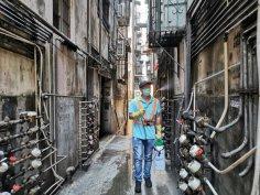 市政署安排人手加強清洗消毒祐漢舊區一帶