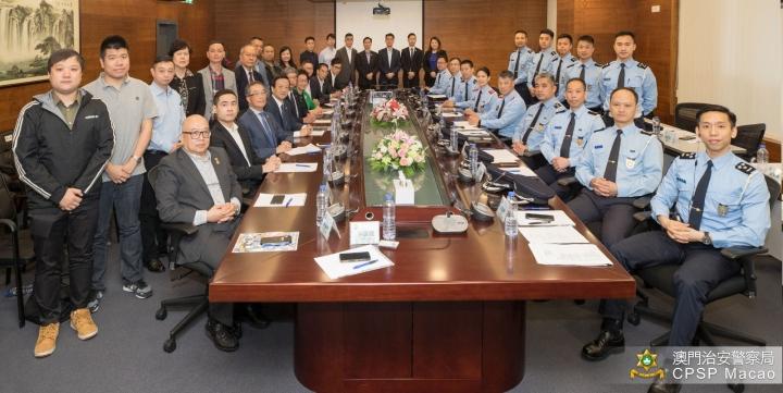 治安警察局舉行「社區警務聯絡機制」六周年交流會 (1)