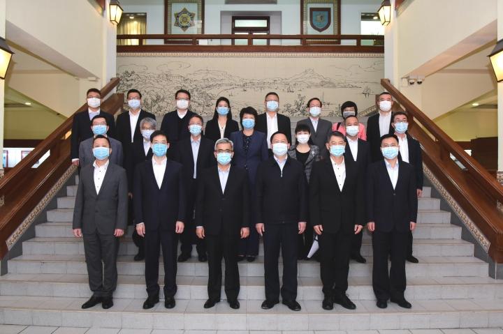 澳珠舉行防疫工作會議