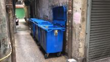 祐漢舊區相關樓宇內部通道已沒有垃圾堆積