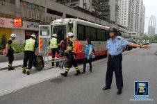 紅十字會安排車輛接載有需要的人士到避險中心