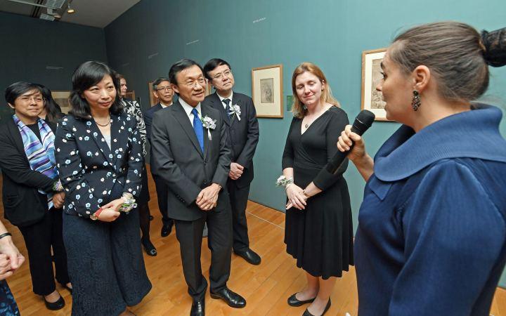 大英博物館館藏意大利文藝復興素描展開幕式