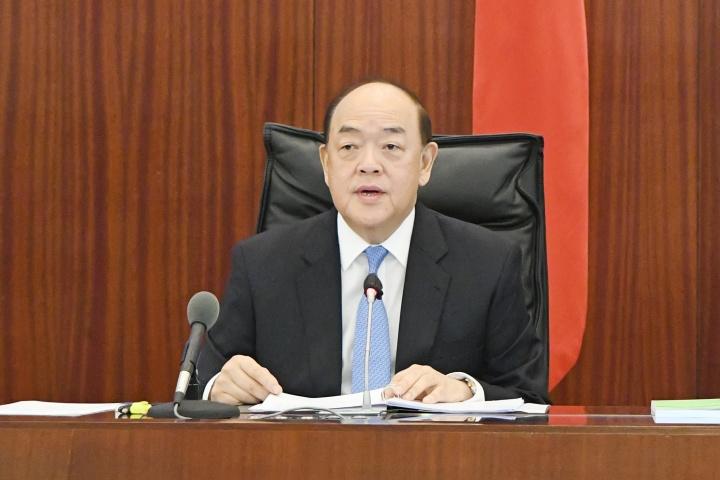 行政長官賀一誠發表2020年財政年度施政報告