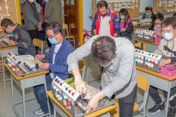 電工入門實務課程 - 學員上課情況