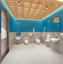 M34 媽閣船塢 無障礙廁所--效果圖