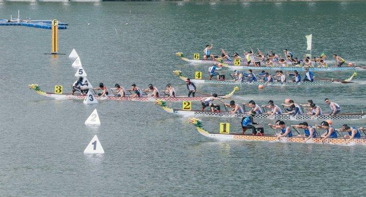 7. 澳門公共機構小龍賽200米比賽情況