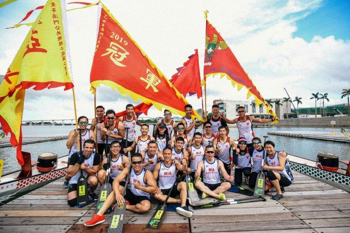 9. 公共機構小龍賽200米總決賽冠亞軍合照