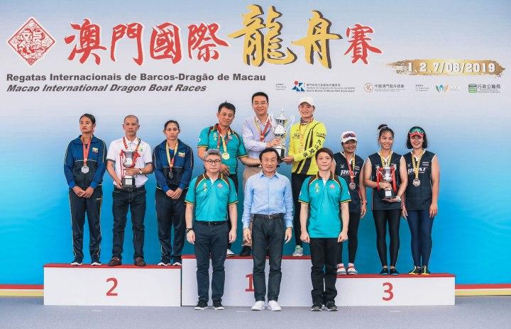 9. 譚俊榮司長等頒發標準龍女子組獎項