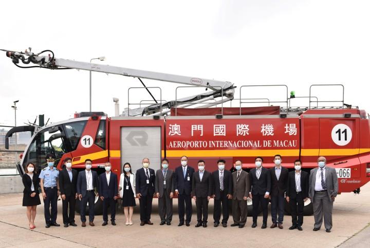 CAM執行委員會成員與消防局局長會面3
