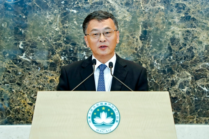 政策研究和區域發展局局長米健在粵澳合作聯席會議後會見傳媒