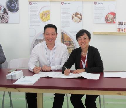 文綺華與美食之都順德簽署合作備忘錄落實在特設的國際美食和文化交流中心攜手推進合作