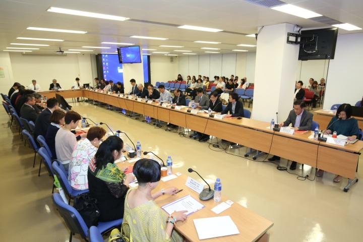 會議共有47名來自43個醫療團體和學術機構代表列席