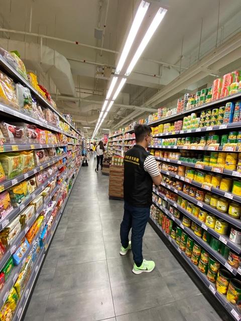 消委會今(10)日進行超市物價巡查
