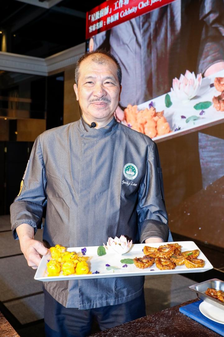 澳門烹飪協會理事長林振國擔任工作坊導師