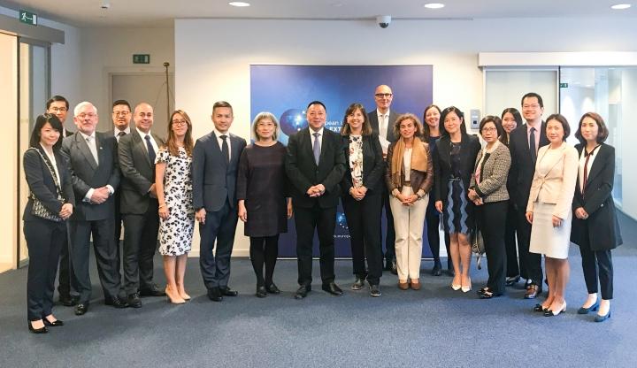 澳門特區政府代表團出席在布魯塞爾舉行的第23屆歐盟-澳門混合委員會會議