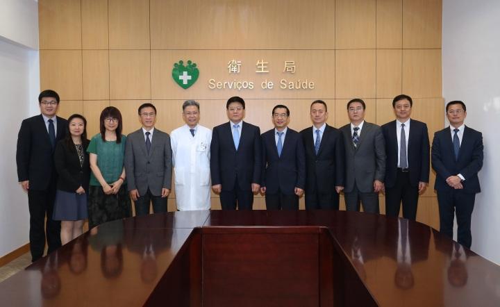 王賀勝副主任對澳門醫療衛生體系取得的顯著成績給予高度評價