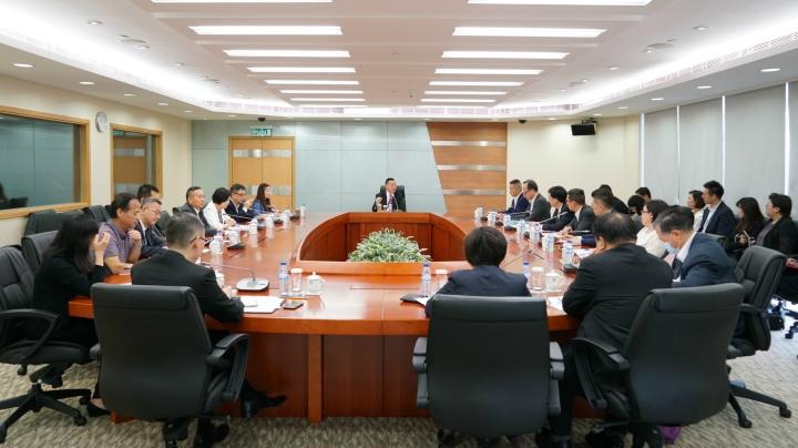 經濟財政司司長梁維特主持2019年首次經財範疇減災防災跨部門工作會議