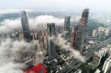 建設中的廣西第一高樓 - 周家志