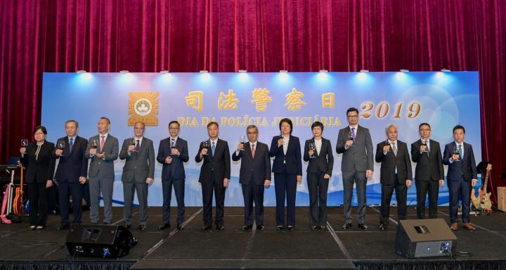 保安司司長黃少澤出席司法警察局周年紀念日晚宴