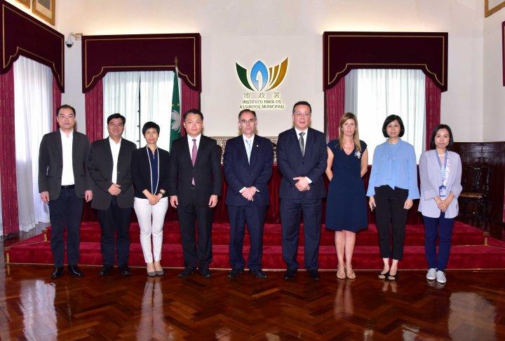 巿政署與葡萄牙食品安全和經濟管理局與會人員合照