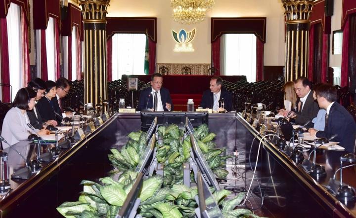 巿政署與葡萄牙食品安全和經濟管理局舉行食安合作工作會議