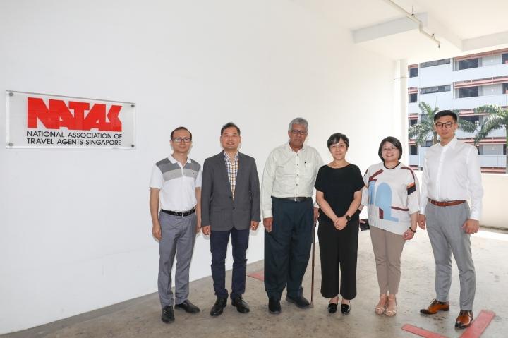 拜訪新加坡全國旅行社協會