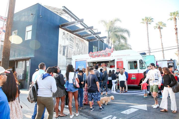 """旅遊局去年於洛杉磯舉辦""""感受澳門 美食車""""宣傳活動"""