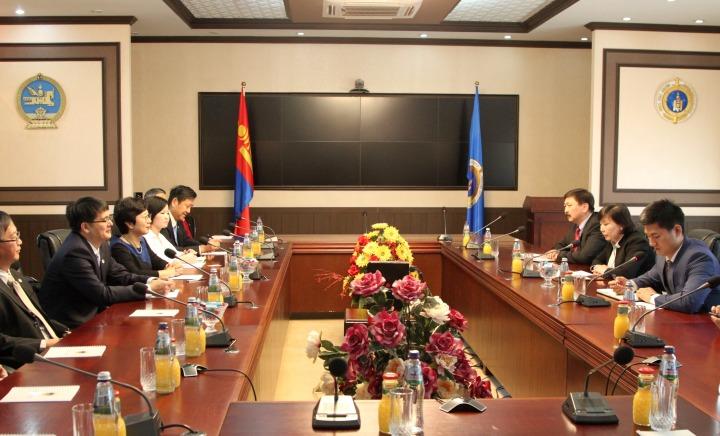 澳門特別行政區代表團拜訪蒙古國檢察院
