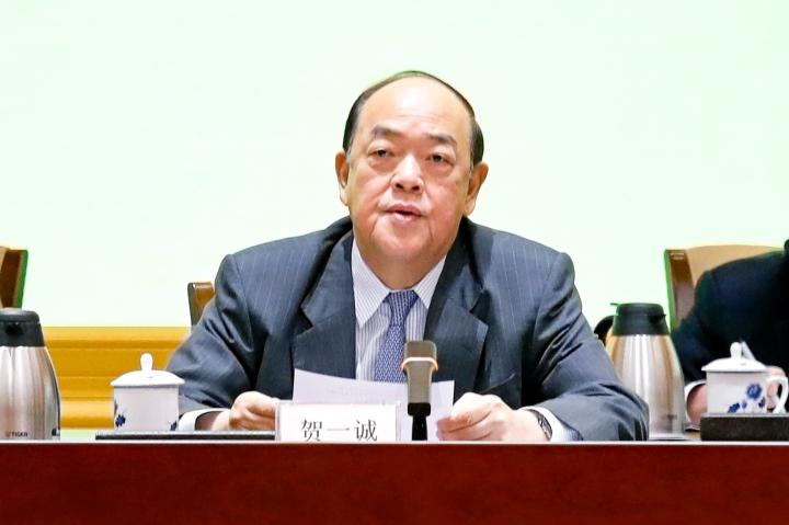 行政長官賀一誠出席2020年全國 兩會精神傳達會