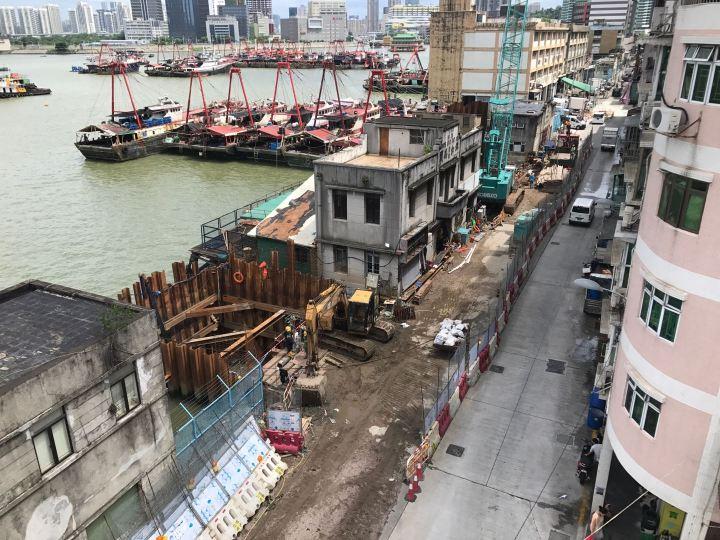 內港北雨水泵站箱涵渠建造工程