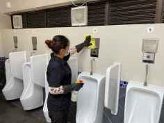 市政署持續加強公廁清潔及消毒工作