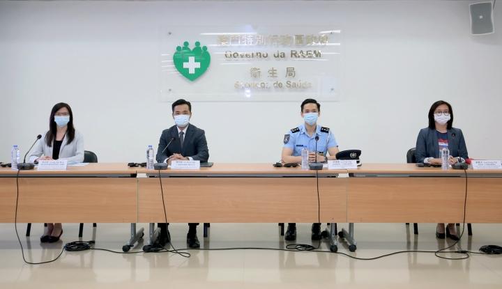 新型冠狀病毒感染應變協調中心7月27日舉行新聞發佈會
