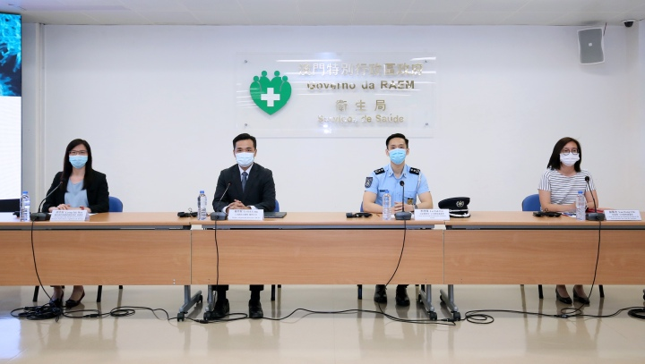 新型冠狀病毒感染應變協調中心7月6日舉行新聞發佈會 copy