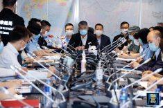 """民防架構舉行代號 """"水晶魚2020""""的民防演習"""