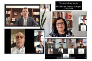 澳大線上葡語暑期課程吸引各地人士參加