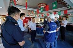 海事局及海關對演習內容提供建議