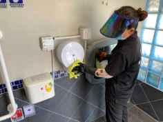 清潔消毒廁紙機