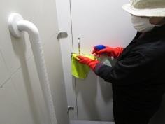 清潔消毒門鎖